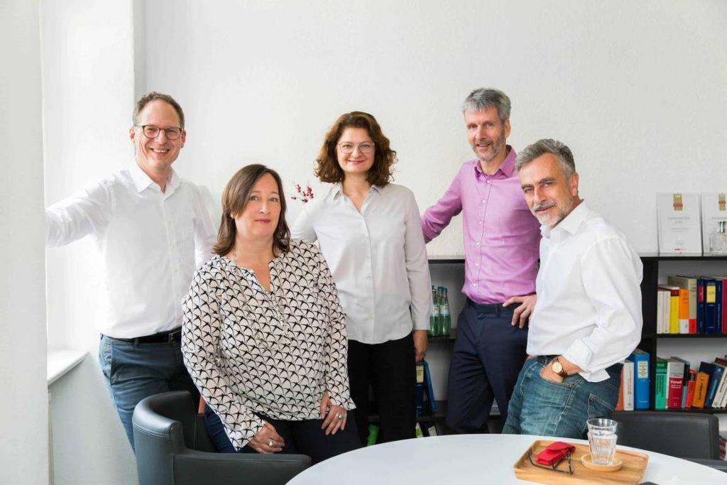 Anwaltsbüro Berlin, Bild des Teams
