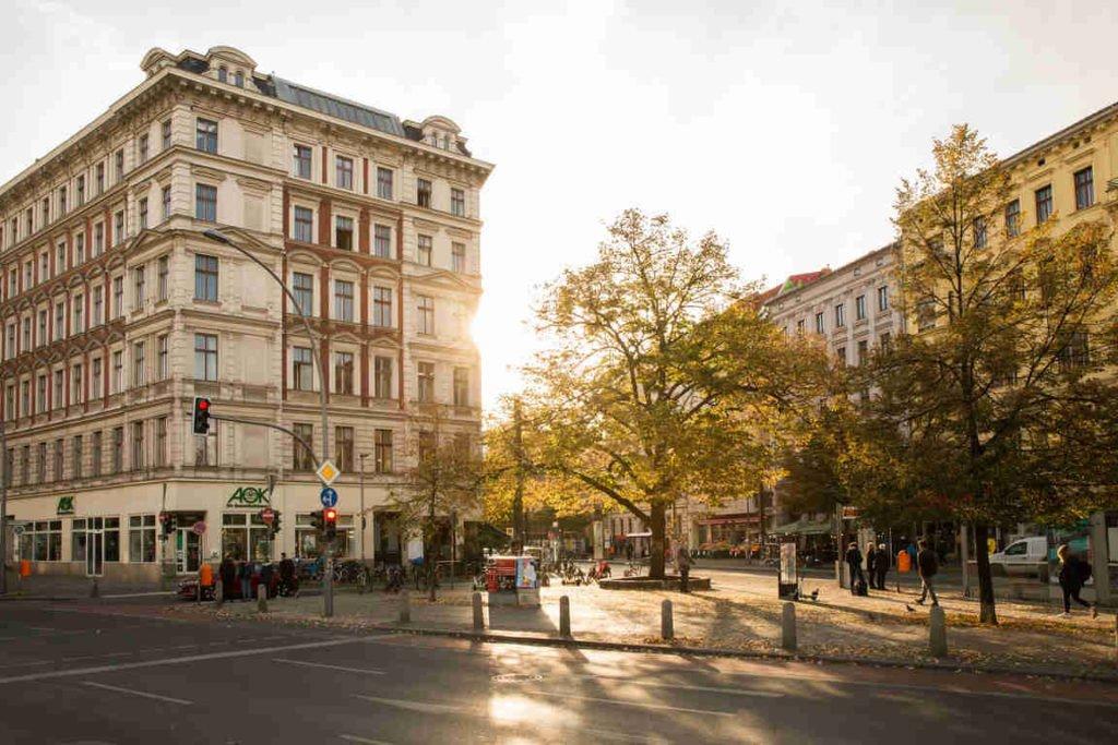 Anwaltsbüro Berlin, Außenansicht